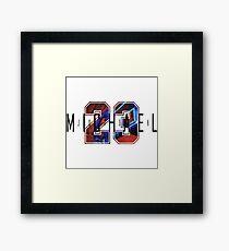 Michael Jordan 23 Framed Print
