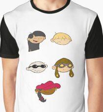 Kids next door sticker- KND Graphic T-Shirt