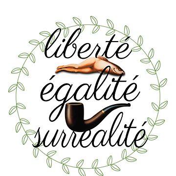 liberté, égalité, surréalité by SillySilhouette