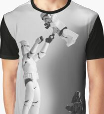 Star Wars Style Graphic T-Shirt