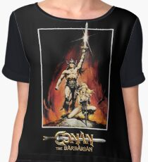 Conan The Barbarian Chiffon Top