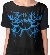 Heavy metal dethklok Chiffon Top