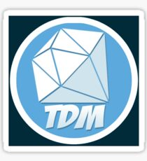 TDM-LOGO Sticker