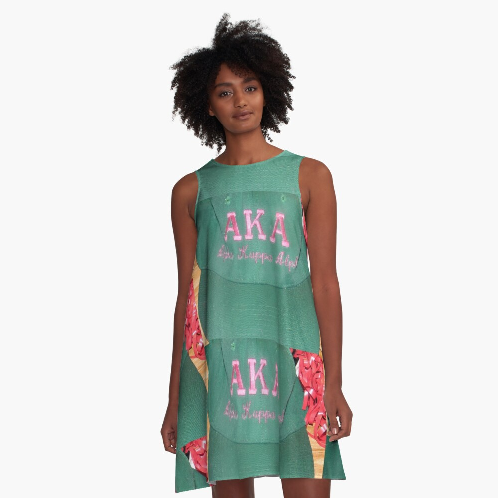 AKA Collection  A-Line Dress Front