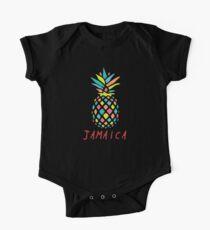 Tropical Pineapple Jamaica One Piece - Short Sleeve