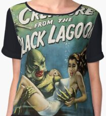 Creature From The Black Lagoon Chiffon Top