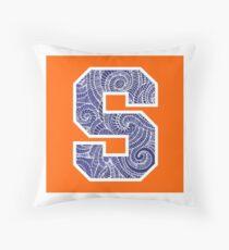 Syracuse University Logo Throw Pillow