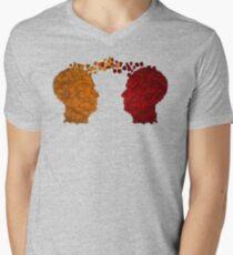 Communication Men's V-Neck T-Shirt