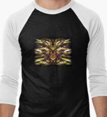Psychedelic Beauty   Men's Baseball ¾ T-Shirt