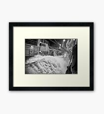 Bering Sea Haul Back 4 Framed Print