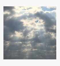 A Sky Full Of Light Photographic Print