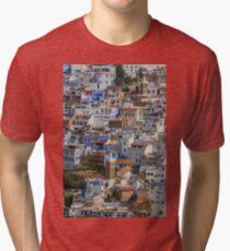 Chaouen, vue générale Tri-blend T-Shirt