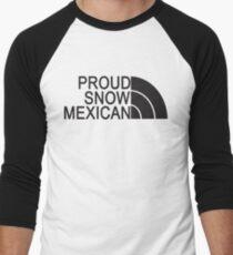 Proud Snow Mexican Men's Baseball ¾ T-Shirt