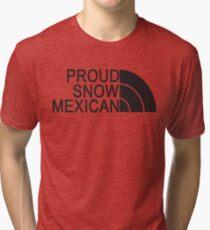 Proud Snow Mexican Tri-blend T-Shirt