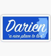 Darien Illinois Sticker