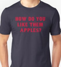 How Do You Like Them Apples? Goodwill Hunting Unisex T-Shirt