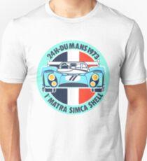 Vintage Le mans racing decal Unisex T-Shirt