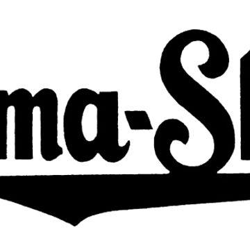 Burma Shave Vintage Black Logo by masseygoose
