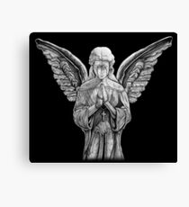 Angel - Statue Canvas Print