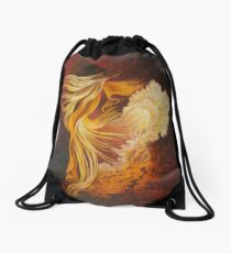 Flamenco Drawstring Bag