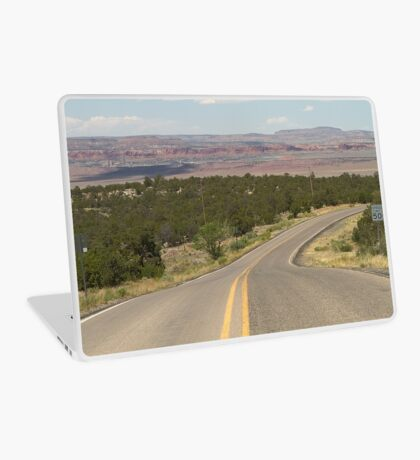 The Desert Road Is My Home Laptop Skin