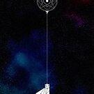 Star Child Original Art Print by dreamingDeeper
