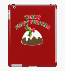 TEAM FIGGY PUDDING iPad Case/Skin