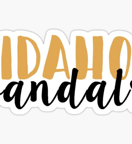 Idaho Vandals Sticker