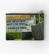 Drive-In Theater Studio Pouch