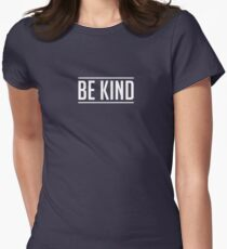 Be Kind Women's Fitted T-Shirt