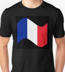 France Flag Wave T-Shirt