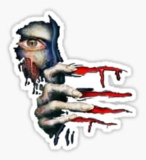 Capcom Resident Evil 2 Classic RARE Design. 100% Redrawn In Adobe Ilustrator Vector Format. Sticker