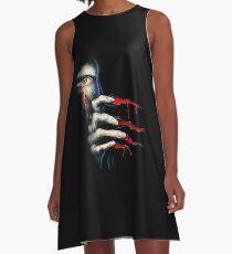 Capcom Resident Evil 2 Classic RARE Design. 100% Redrawn In Adobe Ilustrator Vector Format. A-Line Dress