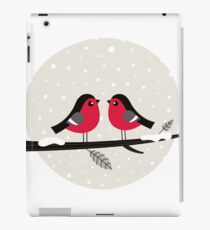 New in shop : Christmas vintage 2 birds edition iPad Case/Skin