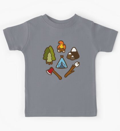 Camping is cool Kids Clothes