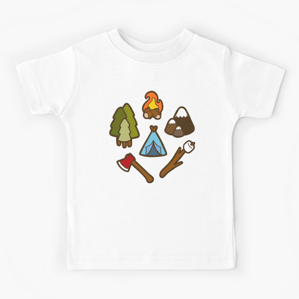 Camping is cool Kids T-Shirt