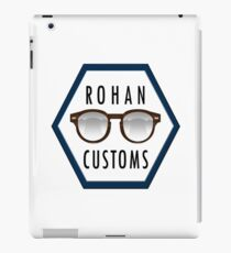 Rohan Customs Logo iPad Case/Skin