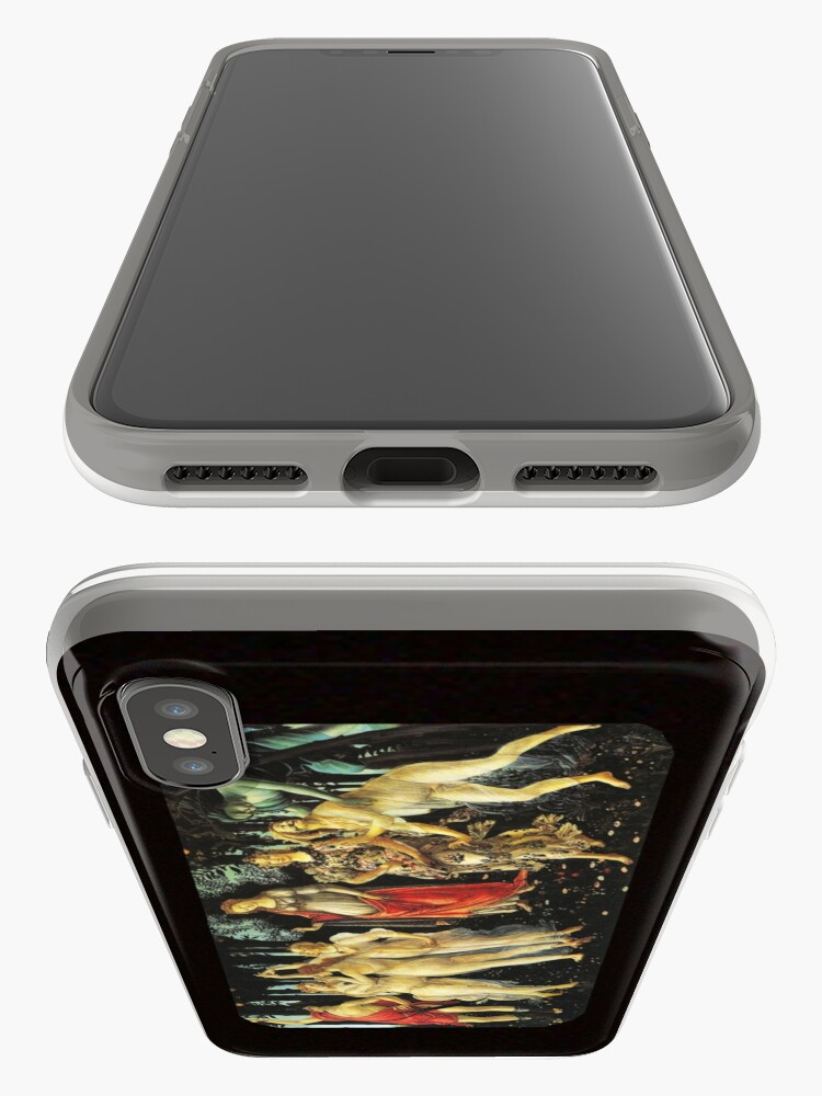 Alternate view of La Primavera di Botticelli -  Allegory of Spring iPhone Cases & Covers