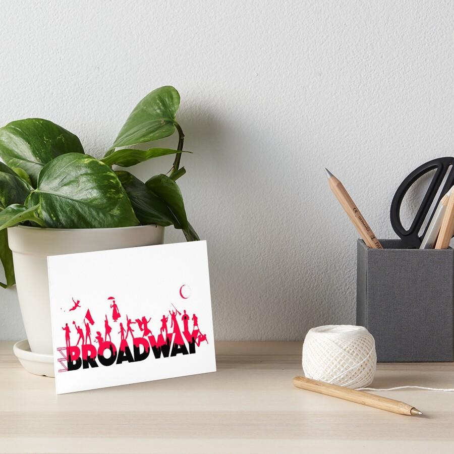 Una celebración de Broadway Lámina rígida