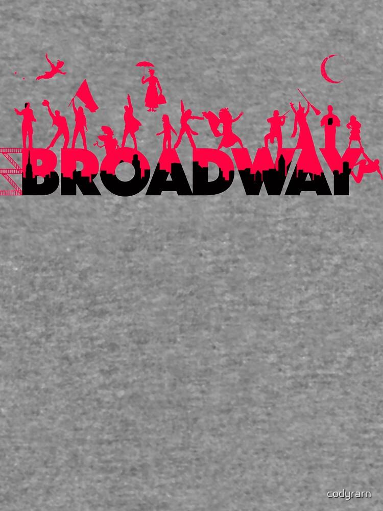 Una celebración de Broadway de codyrarn