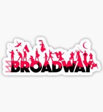 Pegatina Una celebración de Broadway