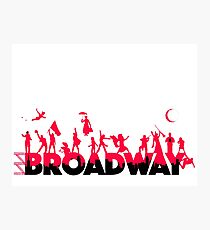 A Celebration of Broadway Photographic Print