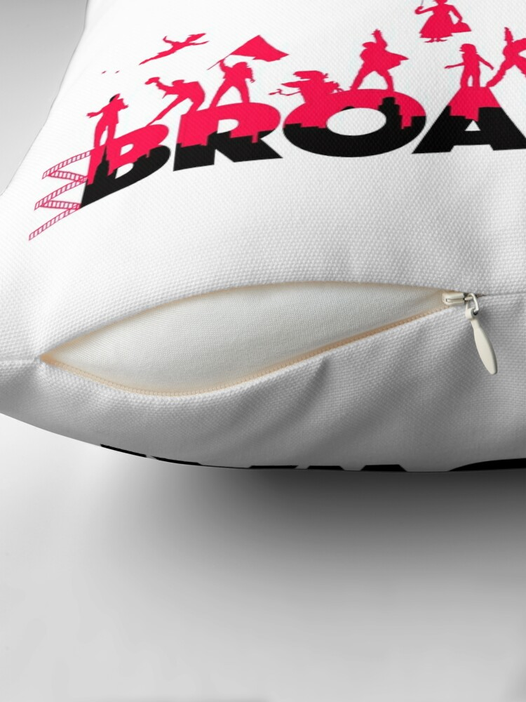 Alternate view of A Celebration of Broadway Throw Pillow