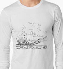 Railwhale Long Sleeve T-Shirt