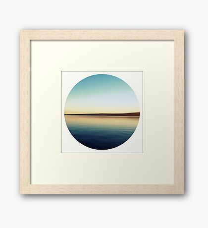 Take a Deep Breath Framed Print