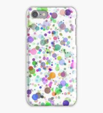 Colorful Round Blots Background iPhone Case/Skin