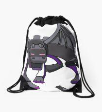 Minecraft Ender Dragon Drawstring Bag