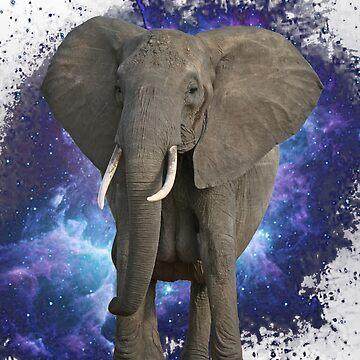 Space Elephant by Gargusuz