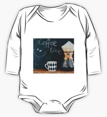 Coffee Time One Piece - Long Sleeve