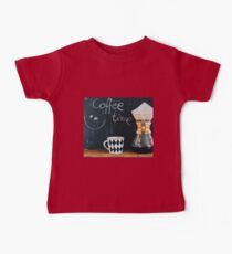 Coffee Time Baby Tee